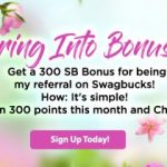 Get a 300 SB bonus when you sign up in June!