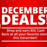 Earn Cash Back on your Christmas Shopping!