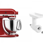 Save 55% on KitchenAid Artisan Tilt-Head Stand Mixer with Food Grinder Attachment!