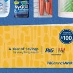P&G Year of Savings coupon book Rebate