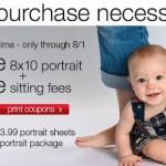 Free 8X10 portrait plus free sitting fees at JC Penney!
