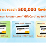 Get Amazon gift cards for writing reviews for Viewpoints!