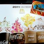 Buy a $10 McDonalds gift card, get a free calendar + additional freebies!