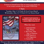 Celebrate Armed Forces day at Chick Fil A, get free food