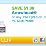 Printable coupon of the day:  $1/2 Arrowhead water!