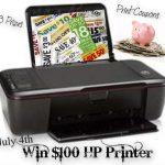 GIVEAWAY:  Win a printer or a coupon binder!