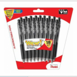 Staples:  get FREE Pentel pens!