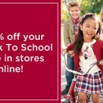 Gymboree:  Get a 20% off printable coupon!