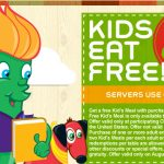 Chili's:  Kids eat free 8/22 and 8/23 + free chips & queso!