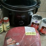 Slow Cooker Mondays:  French dip sandwiches!