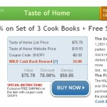 Get 3 Taste of Home Cookbooks + Taste of Home Magazine for $15.93 shipped!