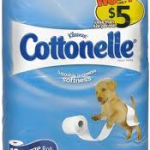 Cottonelle toilet paper (12 ct) for just $3.25 at Walgreens!