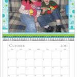 Christmas Gifts on a Budget:  free photo calendar!