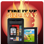 Kindle Fire it Up Giveaway:  Win a FREE KINDLE FIRE!
