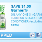 Time to Stockpile:  Garnier Fructis products as low as $1.33 each after coupon!