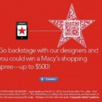 HOT DEAL ALERT:  Enter to win a Macy's shopping spree up to $500!!