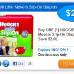 **HOT CVS diaper deal:  Huggies Diapers as low as $1.99 OOP!