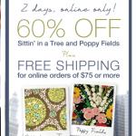 HOT Vera Bradley 60% off sale!  Items as low as $4.80!