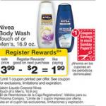 Printable Coupon Alert:  Nivea body wash $.99 after coupon at Walgreens!