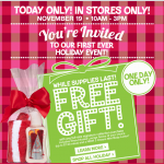 Bath & Body Works FREE Gift! (today only)