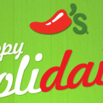 Chili's Holidaily deals:  Free food every day this week!