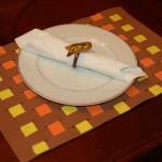 Thanksgiving Craft: Thanksgiving Place Mats