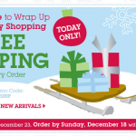 Disney Store:  Free shipping + 20% off + cash back!