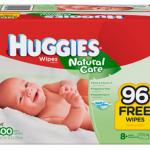 Huggies Natural Care Wipes – $.02 per wipe shipped!