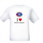 Customized T-shirt for as low as $4.41 shipped from Vistaprint!