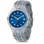 Relic by Fossil Blue Dial Quartz Movement Calendar Stainless Steel Bracelet Men's Watch only $19.99!