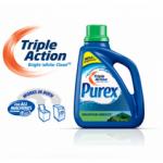 FREEBIE ALERT:  Free sample of Purex Triple Action laundry detergent