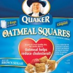 Freebies Round-Up:  Quaker Oatmeal squares, Simply Right baby formula, and more!
