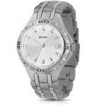 Relic by Fossil Silver Dial Quartz Movement Calendar Stainless Steel Bracelet Men's Watch for $19.99!