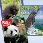 Ranger Rick Magazine for $10 per year! ($40 value)