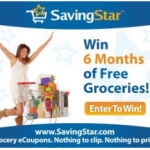 SavingStar:  Win FREE GROCERIES for 6 months!