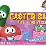 HOT DEAL ALERT:  Veggie Tales gifts as low as $4.97 plus 25% off!