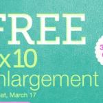 FREEBIE ALERT:  FREE 8X10 photo at Walgreens!