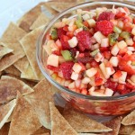 Tasty Treat Tuesday: Fruit Salsa with Baked Cinnamon Chips