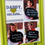 Father's Day Craft: Photo Collage