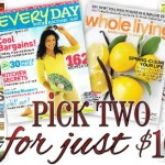 HOT Magazines Sale:  2 for $10 includes Parents, Family Circle, and more!