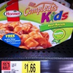 Hormel Compleats Meals as low as $.66 after coupon!