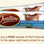 FREE Ovaltine Sample Packs!