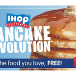 FREE Pancakes from IHOP!