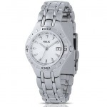 Relic by Fossil Silver Dial Quartz Movement Calendar Stainless Steel Bracelet Ladies' Watch for $19.99!