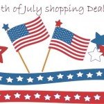 Fourth of July:  Online Shopping Deals Round-Up!