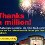 CVS Thanks a Million coupons!