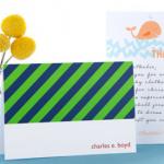 FREEBIE ALERT:  3 free stationery items from Tiny Prints!