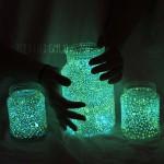 Kids Crafts: Glow Jars