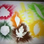 Fall Kids Craft: Leaf Art