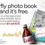 My Coke Rewards:  FREE Shutterfly photo book!